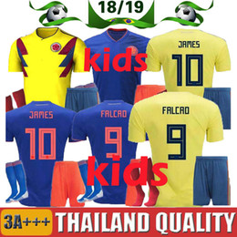 cb014622e60 colombia 9 radamel falcao home youth kids child 2016 2017 country national  team soccer jerseys