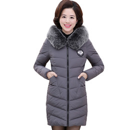 $enCountryForm.capitalKeyWord Canada - 2017 women winter big fur collar coat female plus size 5X long jacket ladies warm outerwear parka feminina padded camperas 560