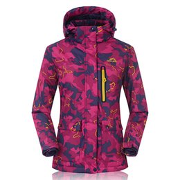 Winter Ski jacket Women Outdoor Mountaineering Cothes Winter Waterproof Warm  Wind Korean Single-board Korean Ski Clothing 3249d4ada