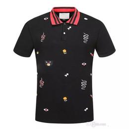 $enCountryForm.capitalKeyWord NZ - 2018 New Men POLO shirt Fashion Mens classic lapel T shirt luxury embroidery cotton high-quality brand tee For Men JG3148