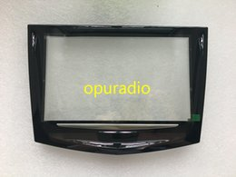 Touch Screen Dashboard Australia - Brand new OEM Factory touch screen use for Cadillac cue CTS car DVD GPS navigation LCD panel Cadillac touch display digitizer 5PCS lot