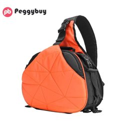 Discount rain covers for dslr cameras - Crossbody Bags for Women Men Waterproof Totes DSLR Camera Shoulder Bags with Rain Cover Triangle Sling for Digital Camer