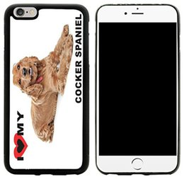 $enCountryForm.capitalKeyWord Australia - I Love My Brown Cocker Spaniel Dog Phone Case For Iphone 5c 5s 6s 6plus 6splus 7 7plus Samsung Galaxy S5 S6 S6ep S7 S7ep