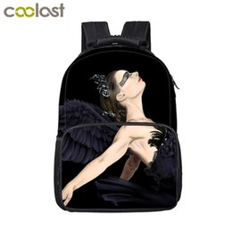 1ea429bc5e Elegant Swan Angel By The Wings Child Backpack Magical Dragon Women Men Travel  Bags Big Space Laptop Bag Animal School Backpack affordable elegant school  ...