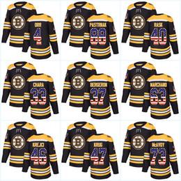 6e26c0a14 Patrice Bergeron Hockey Jersey NZ - Youth 37 Patrice Bergeron USA Flag  Stitched Boston Bruins 33