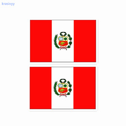 Wholesale Makeup Face tattoo Football world cup Peru flag body art Waterproof Temporary cool Tattoo Sticker water transfer fake tattoos
