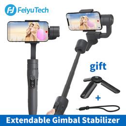 handheld gimbal for smartphone 2019 - FeiyuTech Vimble 2 Feiyu 3-Axis Handheld Gimbal Smartphone Stabilizer Extendable Pole Tripod for iPhone X 8 XIAOMI Samsu