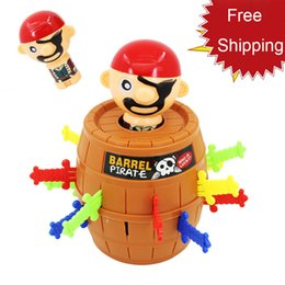 kids pirate ships toys 2019 - Hot Selling The pirates barrels strange whimsy pirates barrels Uncle Family Wacky and Novel Toys Bingo kids toys Free Sh