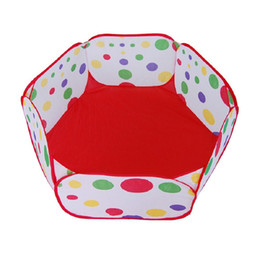 tents kids NZ - Kids Ball Play Poll Tent Toddler Ball Pit for Toddlers 90cm