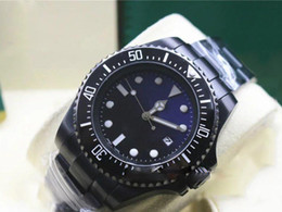 Men Sea Ceramic Watch NZ - Hot seller Black strap Men SEA-DWELLER Ceramic Bezel Stanless Steel Clasp 116660 Automatic movement Business Casual mens Watches