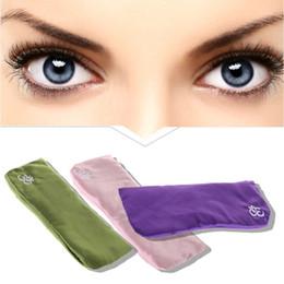 Pillow Mask NZ - Yoga Eye Pillow Cassia Seed Lavender Massage Relaxation Mask Aromatherapy 3