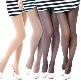 21c7d879a14 2018 NEW Fashion Women Sexy Tights High Elastic Full Foot Anti-Hook Long  Stockings Female Stylish Thin Slim Pantyhose One Size