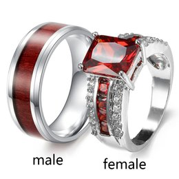 Shop Couple Rings Ruby Uk Couple Rings Ruby Free Delivery To Uk