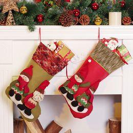 christmas decorations for tree wall door hanging ornaments christmas stocking christmas gift bag santa sacks candy organizers