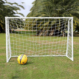 PE Goal Net 5 Person Soccer Net Cotton Spandex Material Football Soccer Goal Net Post Nets Outdoor Sport Training Tool on Sale
