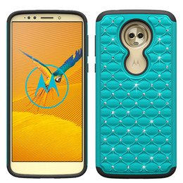 wholesale bling cell phone cases UK - Bling Crystal Cases For Samsung Galaxy J7 2018 J3 2018 S9 S9 plus Silicone+ PC+TPU Dirt-resistant Shockproof Hot sell Cell Phone Case