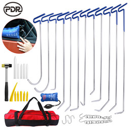 tapping tools NZ - PDR Tools New Hooks Push Rods Hammer Tap Down Tool Set For Automotive Repair Car Dent Repair Car Body Repair Kit High Quality