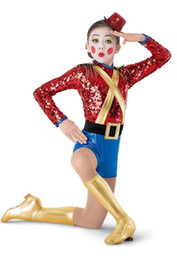 leotard sequins NZ - Red sequins clown dance costumes for Girls Stage performance wear dancewear gymnastics leotard women dance for adults 74