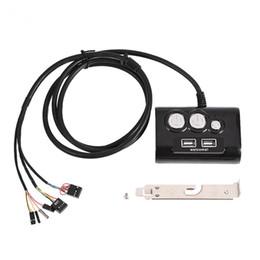 $enCountryForm.capitalKeyWord UK - Multifunction Desktop PC Computer Power Switch w  Dual USB Ports Reset Button 3.5mm Audio Jack