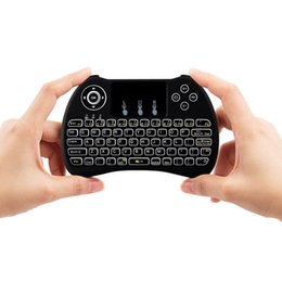 $enCountryForm.capitalKeyWord Australia - Free DHL 2.4G Mini Handheld Wireless Keyboard H9 Fly Air Mouse With Backlight Touchpad for PC Smart TV BOX