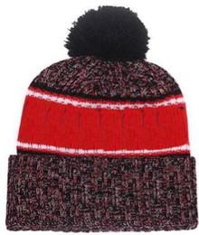 $enCountryForm.capitalKeyWord NZ - 2019 Autumn Winter hat Sports Hats Custom Knitted Cap with Team Logo Sideline Cold Weather Knit hat Soft Warm Kansas City Beanie Skull Cap
