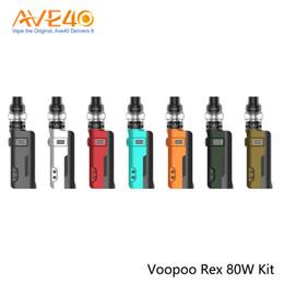 Design kit e online shopping - VOOPOO REX W Starter Kit With ml UFORCE U2 Tank UFORCE Coil Ergonomic Design E cigarette Kit Original