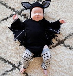 boy girl halloween cosplay bat jumpsuit romper hat outfit toddler newborn baby jumpsuit halloween costumes kka5848 month baby girl halloween costumes deals