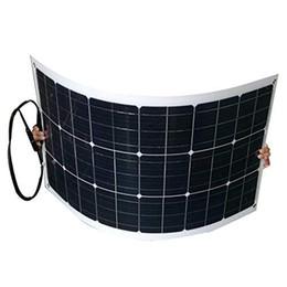 Заряжатель панели солнечных батарей 12V 2x 100W 18V Monocrystalline Bendable гибкий Солнечный с MC4 для RV, шлюпки, кабины, шатра, автомобиля, трейлера, батареи 12v