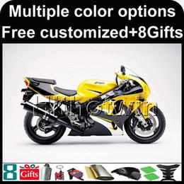 Kawasaki Zx 7r Fairings Australia - 23colors+8Gifts yellow bodywork motorcycle Fairing For Kawasaki ZX7R 1996-2003 ZX-7R 96 97 98 99 00 01 02 03 04 05 06 07 ZX 7R