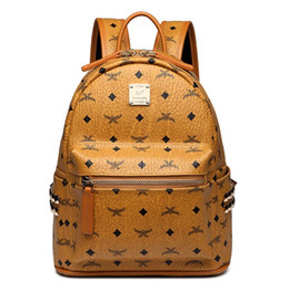 Echtes Leder Hohe Qualität 3 größe 2018 Luxus Marke männer frauen Rucksack berühmte Rucksack Designer dame rucksäcke Taschen Frauen Männer rucksack