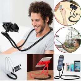 phone holder clip long arm Australia - New arrival Flexible Long Arms Lazy Stand Clip Holder for Mobile Phone Tablet PC Desktop Bed Random Color