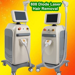 Hair Home Machine NZ - High quality Laser permanent hair removal home device machine 810nm diode laser fast hair removal machine with cream salon use