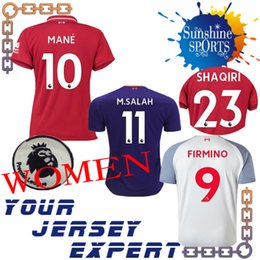 liverpooling WOMEN 18 19 10 MANE THIRD Jerseys Soccer sets socks MILNER  M.Salah FIRMINO 2018 2019 SHAQIRI MS blue White 23 SHAQIRI red 48ea0a5c2