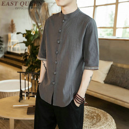 ab7a5b93de8b Traditional Chinese Clothing Men Australia - Traditional chinese clothing  for men traditional chinese shirt tops online