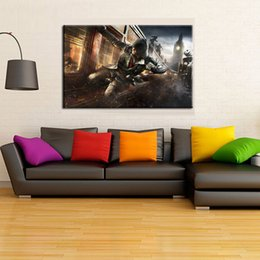 $enCountryForm.capitalKeyWord UK - assassins creed syndicate attack bl Modern Abstract Canvas Oil Painting Print Wall Art Decor for Living Room Home Decoration Framed Unframed