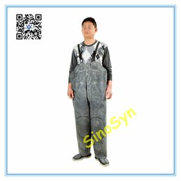 $enCountryForm.capitalKeyWord UK - FQ1733 Double Rubber Safty Chest  Waist Protective Working Fishery Men Pants with Double Knees --Black