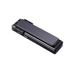 Metal Mini cámara 1088P grabación de video Adsorción magnética fuerte Micro cámara Grabadora de voz Grabadora de audio profesional