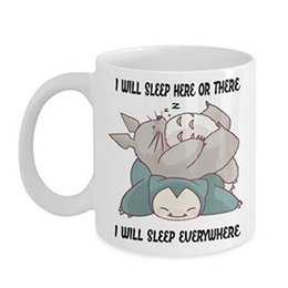 $enCountryForm.capitalKeyWord NZ - Hayao Miyazaki Sleeping Totoro Coffee Mug Ceramic Cup Gift Cup Unique Cup