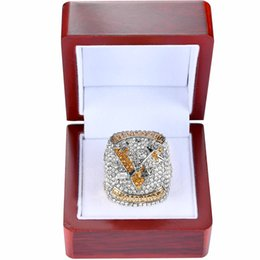 Pittsburgh Rings Canada - 2017 REPLICA PITTSBURGH PENGUINS STANLEY CUP SCORES ENGRAVED HIGH QUALITY CHAMPIONSHIP RING MEN JEWELRY
