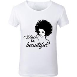 6e15d16139 New Women Black Girl Magic T-Shirts Black IS beautiful graphic racist human  rights White tumblr fashion T shirt Fashion tees top