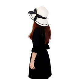 China Beach Hat Female Summer Hats Women Large Brimmed Straw Beach Girls Hat 9282 supplier large brim female hats suppliers
