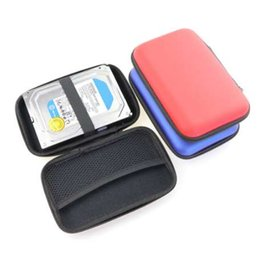 "ide hard disk drive 2019 - Portable EVA Carrying Case 3.5"" SATA IDE Hard Drive Organizer Bag Protective Box Travel Bag 3.5 Inch Hard Disk Case"