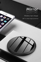 $enCountryForm.capitalKeyWord NZ - Glass Mirror 7.5 10W Qi Wireless Charger For iPhone X 8 Xs Max XR Samsung Galaxy S9 S8 Plus S6 Ultra-thin Fast Charging