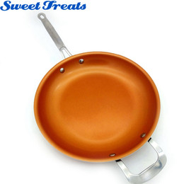 $enCountryForm.capitalKeyWord Canada - Non Stick Copper Frying Pan with Ceramic Coating and Induction Cooking Oven Dishwasher Safe 12 Inches Kitchen Tools