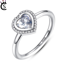 f37bba6f7 Authentic 925 Sterling Silver Ring Fine Jewelry Classics Openwork Entwined  Love Heart Rings For Women Men Gift fit pandora