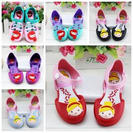 7b77638260d08 Mermaid Kids Sandals Girls Summer Jelly Shoes Baby Candy Color Soft-Soled Sandals  Child Princess Shoes Anti-Skid Sapato Melissa Shoes HN07