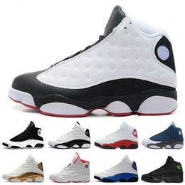 Hologram Shoes Canada - Cheap 13 13s mens basketball shoes Hologram Barons shoe Playoffs Athletic sports sneakers women trainers running shoes for mens designer