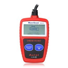 China Autel MS309 CAN OBD2 OBDII EOBD Auto Scanner Car Code Reader Turns off Check Engine Light Multi-language suppliers
