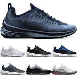 385e083eea35 Designer Axis 98 Men Women Running Shoes Triple Black White Cool Grey Oreo  Core Deep Blue Olive Trainer Sport Sneaker Size 40-45