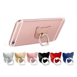 handyhalter handyhalter katze finger ring zurück halter 360 drehbare montieren handy finger grip faule schnalle stehen